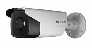 Sistem supraveghere video Hikvision 2 camere 5MP Turbo HD IR 80 M cu DVR Hikvision 4 canale  full accesorii, cablu coaxial [1]
