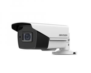Sistem supraveghere video Hikvision 4 camere de exterior 5MP Turbo HD cu IR 40M, full accesorii cu HARD 1TB, live internet [2]