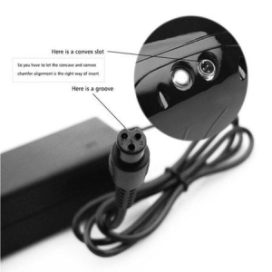 Sursa alimentare Incarcator HOVERBOARD YDS 42V 2A cu fir carcasa plastic mufa cu 3 pin [1]