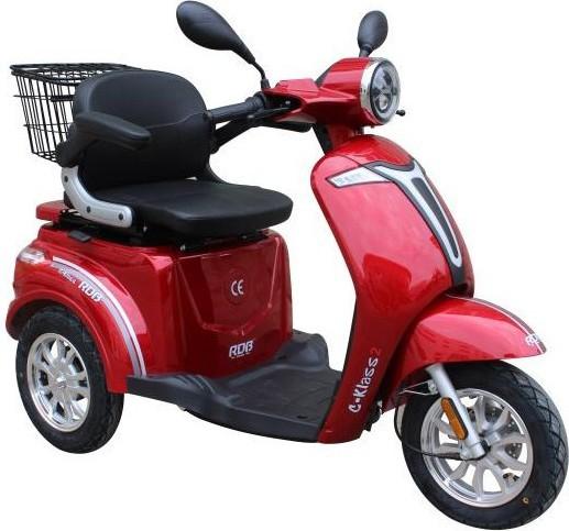 Tipuri de tricicletă electrică