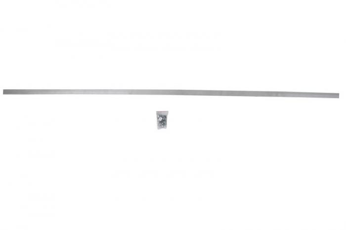 Baveta noroia aluminiu, L=2400, (suruburi, saibe, piulite) 0