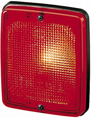 Dispersor lampa ceata spate DB NEOPLAN IVECO M2000 [0]