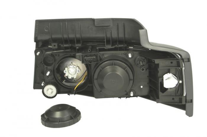 Far dreapta H1/P21W/W5W, manual cu semnalizator si rama fundal argintiu, culoare Semnalizator portocaliu RVI MIDLUM dupa 2000 1