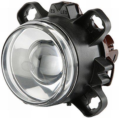Far universal (H1, 24V, latime 112,9mm, inaltime 112,9mm, diametru 90mm, transparent, negru) MERCEDES ECONIC 2 dupa 2013 0