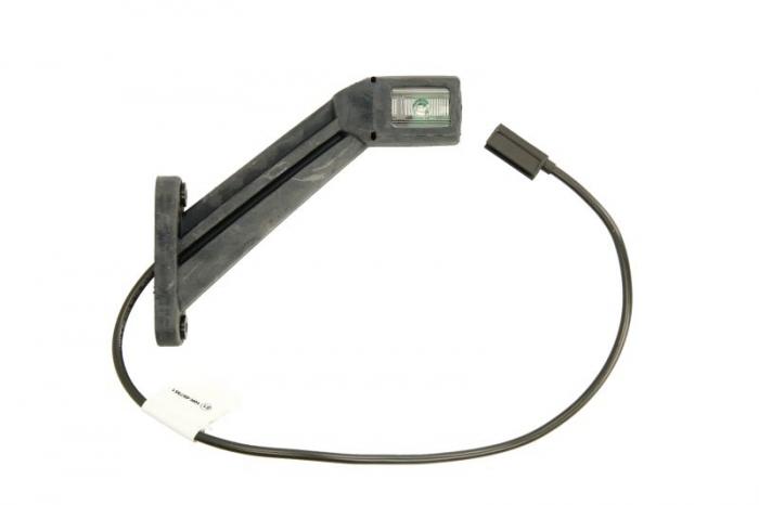 Lampa gabarit dreapta , alb, LED latime 35, lungime cablu 500, 12/24V [0]