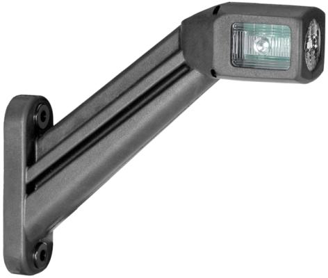 Lampa gabarit stanga/dreapta, alb, LED latime 35, lungime cablu 500, 12/24V [0]