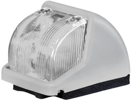 Lampa gabarit stanga/dreapta, alb, R10W, inaltime 68,2 latime 535 adancime 48, 12/24V 0