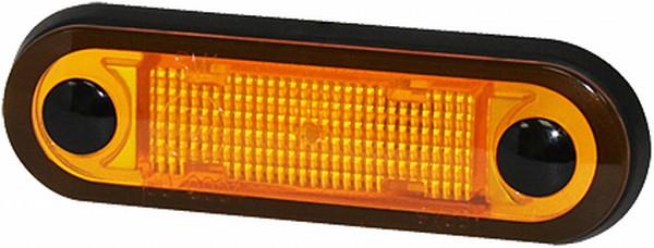Lampa gabarit stanga/dreapta, galben, LED, inaltime 25,9 latime 79 lungime cablu 500, 12/24V [0]
