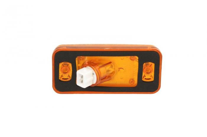 Lampa gabarit stanga/dreapta, portocaliu, W5W, inaltime 50 latime 110 adancime 18, 24V DAF 65 CF, 75, 75 CF, 85, 85 CF, 95, 95 XF, CF 75, CF 85, LF 55, XF 105, XF 95 IVECO EUROSTAR, EUROTECH MH 1