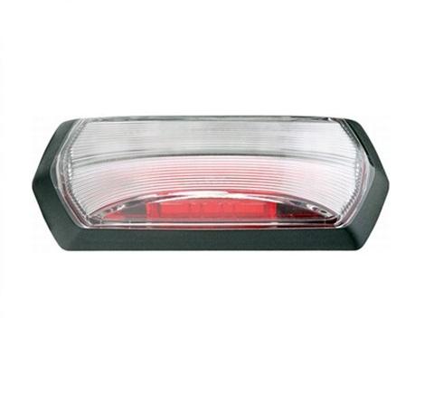 Lampa gabarit stanga/dreapta, rosu/alb, LED, inaltime 99,2 latime 37,5 adancime 37,7, , 24V 0