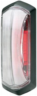 Lampa gabarit stanga/dreapta, rosu/alb, LED, inaltime 99,2 latime 37,5 adancime 37,7, , 24V 1