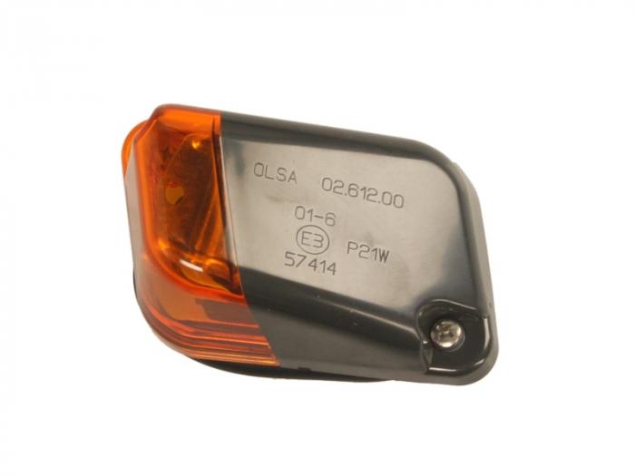 Lampa Semnalizator fata dreapta culoare sticla: portocaliu, P21W IVECO EUROTECH MH dupa 1998 0