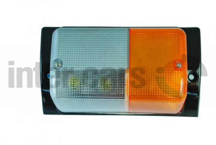 Lampa Semnalizator fata dreapta culoare sticla: portocaliu/transparent SCANIA 3 12.96 [0]