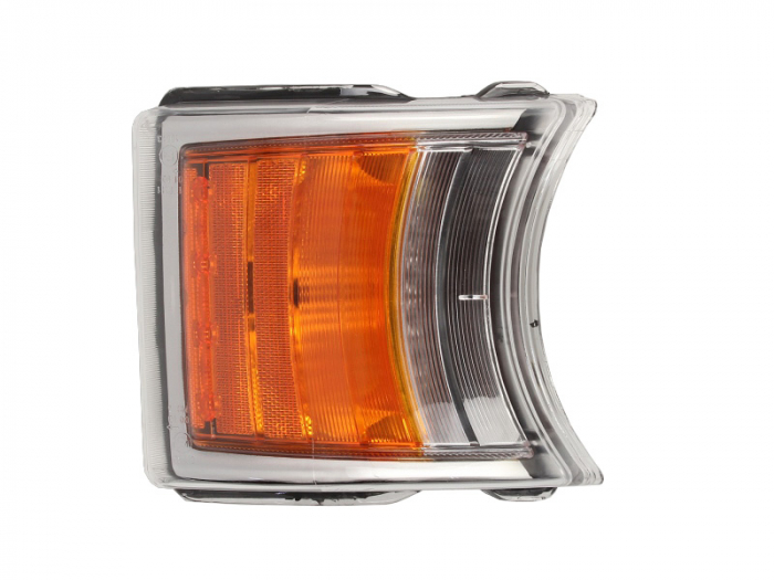 Lampa semnalizator fata stanga/dreapta culoare sticla: portocaliu, H21W, led: 4/8, cu Lumini zi SCANIA P,G,R,T dupa 2009 [0]