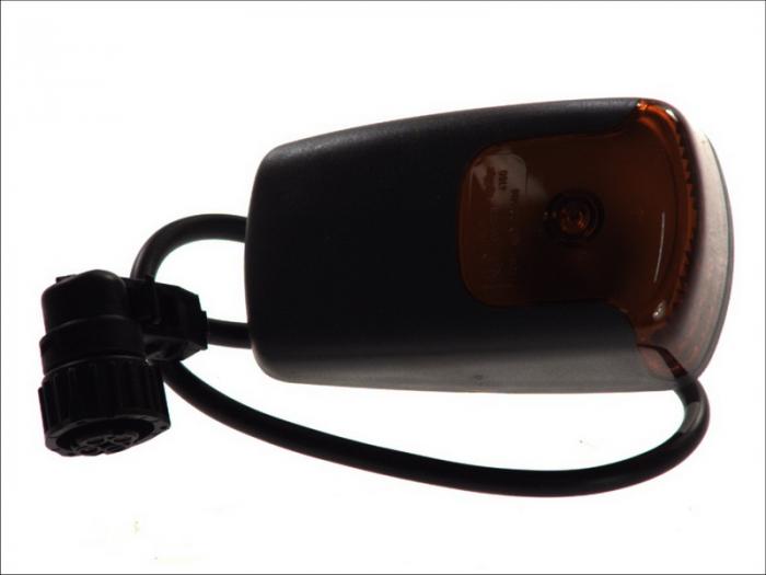 Lampa Semnalizator fata stanga/dreapta culoare sticla: portocaliu MERCEDES AXOR, TOURO O 500, TRAVEGO O 580; SETRA 400, 500 dupa 1996 [2]