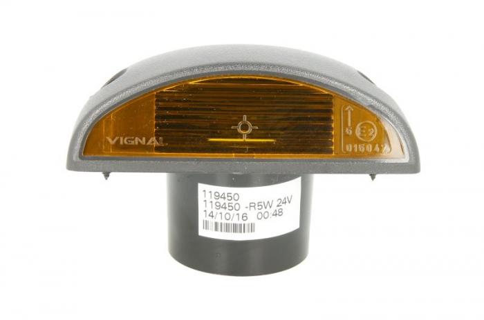 Lampa Semnalizator fata stanga/dreapta portocaliu, no bulb ornamente RVI PREMIUM dupa 1996 0