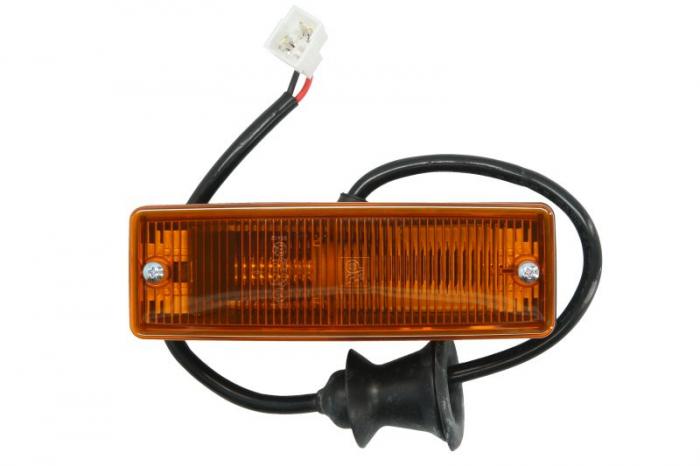 Lampa Semnalizator, partea dreapta culoare sticla: portocaliu, in Aripa MERCEDES MK, NG, O 301, O 402, SK intre 1973-1996 0