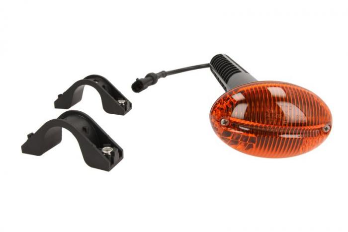 Lampa Semnalizator, partea dreapta culoare sticla: portocaliu IVECO EUROCARGO I-III intre 2008-2015 [0]