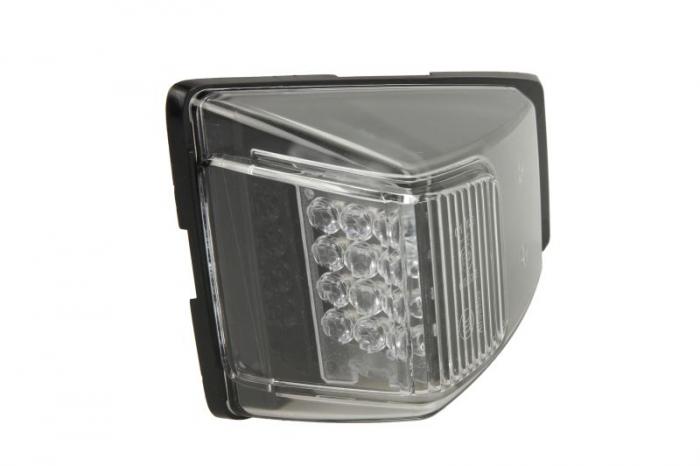 Lampa Semnalizator, partea dreapta culoare sticla: transparent, LED, cu 2 pini, cu fire VOLVO FM dupa 2012 [0]