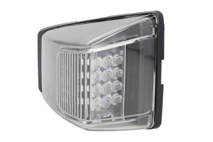 Lampa Semnalizator, partea stanga culoare sticla: transparent, LED, cu 2 pini, cu fire VOLVO FM dupa 2012 0