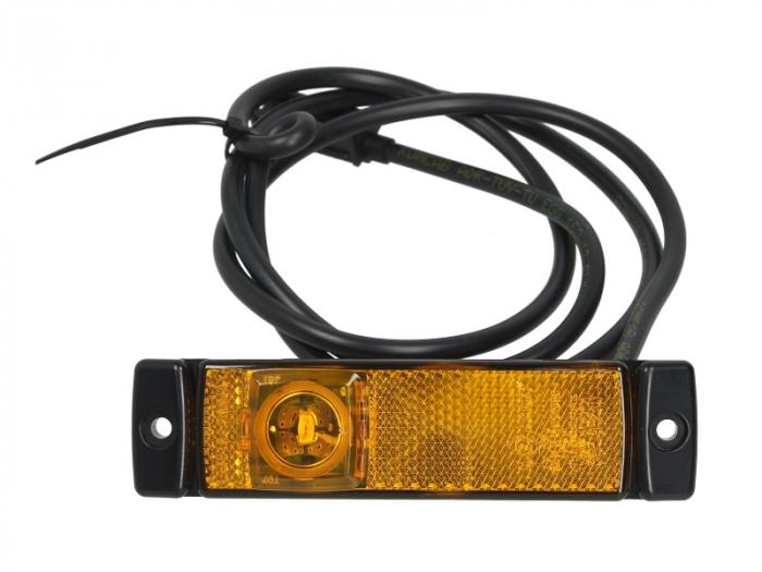 Lumina delimitare LED inaltime 32 latime 130, lungime cablu 1300, 24V 0
