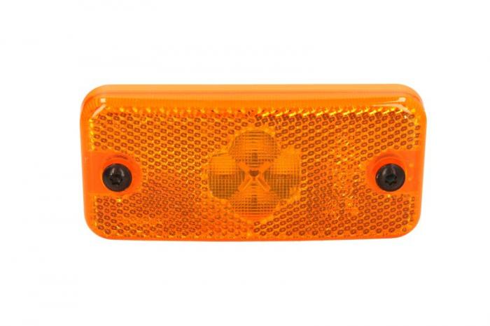 Lumini marcaj spate stanga/dreapta portocaliu, 12/24V IVECO EUROCARGO I-III, STRALIS, TRAKKER dupa 1991 [0]