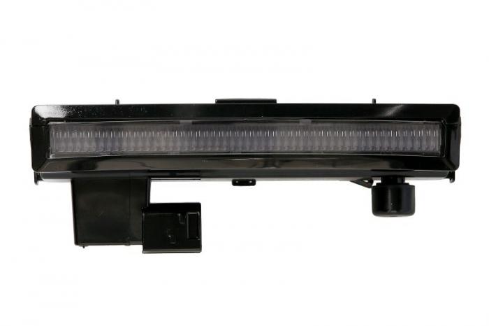 Lumini marcaj spate stanga/dreapta portocaliu, LED, 12/24V pe acoperis; cu suport SCANIA L,P,G,R,S dupa 2016 0
