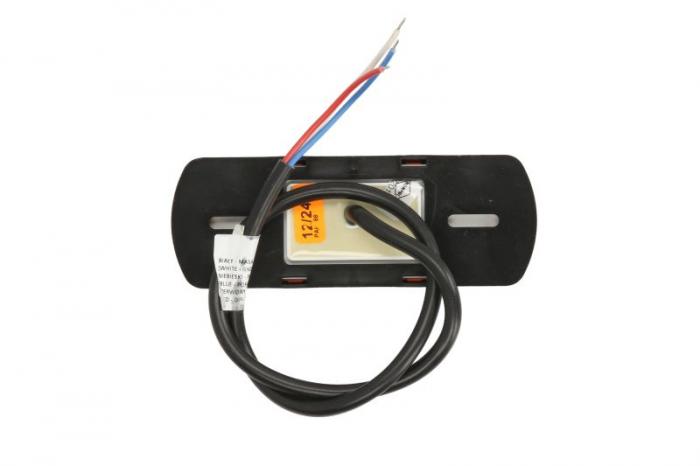 Lumini marcaj spate stanga/dreapta portocaliu, LED, inaltime 44; latime 122; adancime 19, suprafata, lungime furtun 500, 12/24V cu functie semnalizator , reflectorizant 1