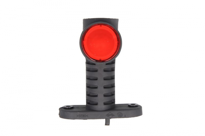 Lumini marcaj spate stanga/dreapta portocaliu/rosu/alb, LED, inaltime 100; latime 55; adancime 117,5, suprafata, lungime furtun 500, brat lung 12/24V 1