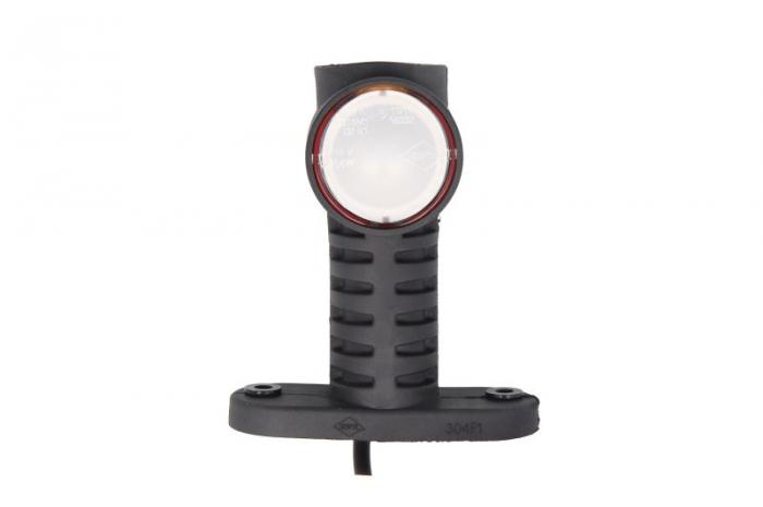 Lumini marcaj spate stanga/dreapta portocaliu/rosu/alb, LED, inaltime 100; latime 55; adancime 117,5, suprafata, lungime furtun 500, brat lung 12/24V 2