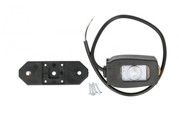 Lumini marcaj spate stanga/dreapta portocaliu/rosu/alb, LED, suprafata, lungime furtun 450, 12/24V [0]