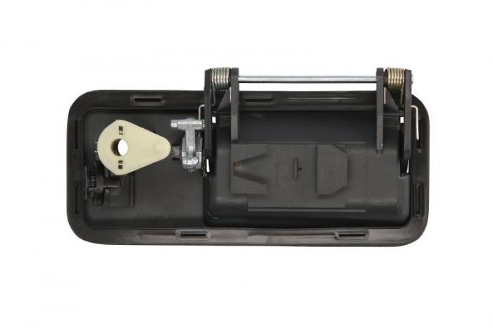 Maner usa dreapta exterior cu chei, cu locas incuietoare, negru VOLVO FH 12, FH 16, FH 16 II, FM 10, FM 12, FM 7, FM 9, NH 12 dupa 1993 [1]