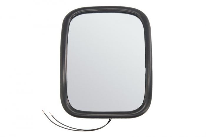 Oglinda stanga/dreapta, manuala, incalzita 24V 198x160mm MAN F90 [0]