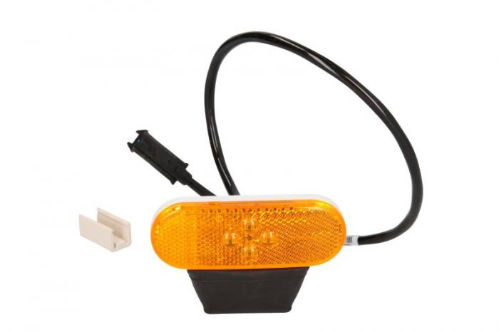 Reflector portocaliu LED 24V 500mm 0