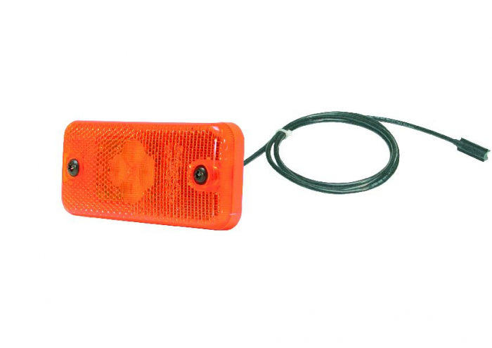 Reflector portocaliu LED 24V 500mm AP [0]