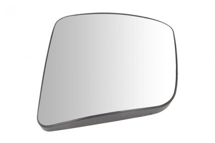 Sticla oglinda dreapta 204x236mm, incalzita MERCEDES ACTROS MP4 / MP5 dupa 2011 0