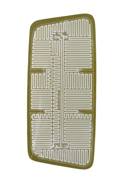 Sticla oglinda stanga/dreapta 412x188mm, incalzita MAN L 2000, M 2000 L, M 2000 M dupa 1993 0