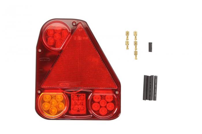 Stop lampa spate dreapta LED, 12/24V, semnalizator, anti-Proiectoare ceata, lampa stop, lumina parcare, triunghi reflector [0]