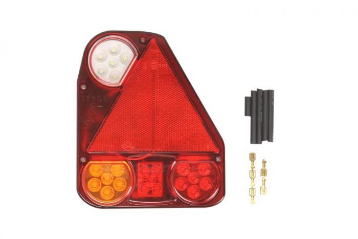 Stop lampa spate dreapta LED, 12/24V, semnalizator, lumini marsarier, lampa stop, lumina parcare, triunghi reflector 0