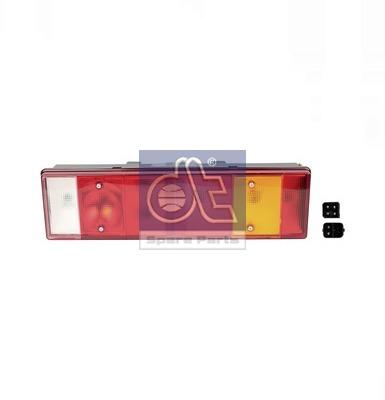 Stop lampa spate stanga cu bulb deschis 24V, reflector, soclu dreptunghiular 6 pini VOLVO FH 12, FH 16, FL 10, FL 12 0