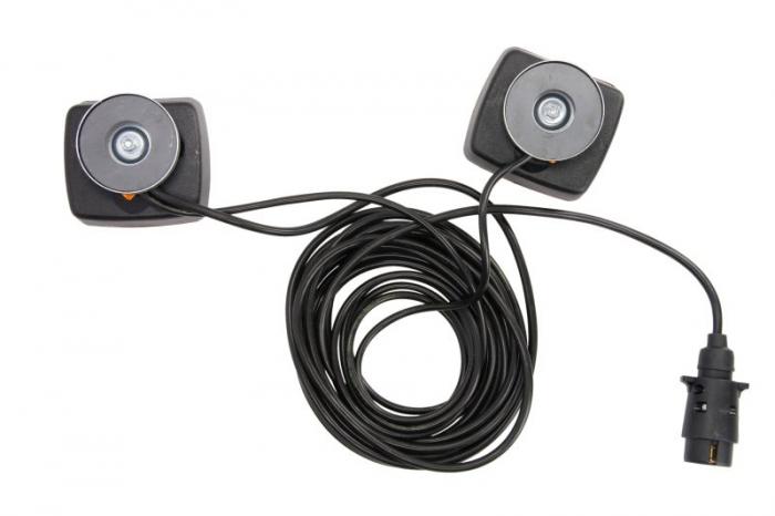 Stop lampa spate stanga/dreapta cu bulb deschis 12V, semnalizator, lampa stop, lumina parcare, fire 7m, cu a 7 pini soclu [1]