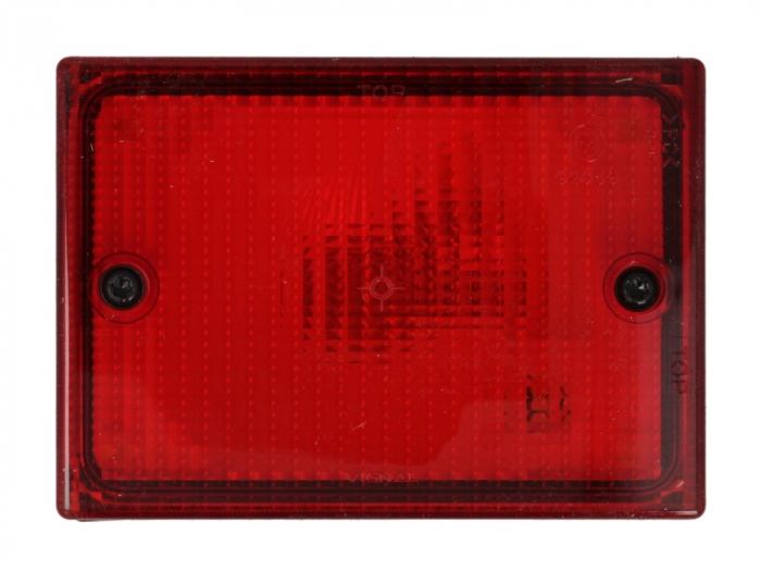 Stop lampa spate stanga/dreapta cu bulb deschis 24V, lumina parcare, 140x100x70mm BUS 0