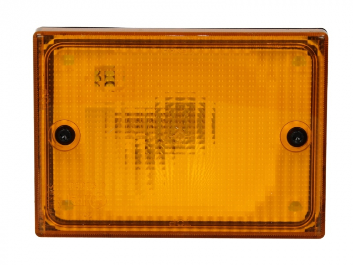 Stop lampa spate stanga/dreapta cu bulb deschis 24V, semnalizator, 140x100x70mm BUS [0]