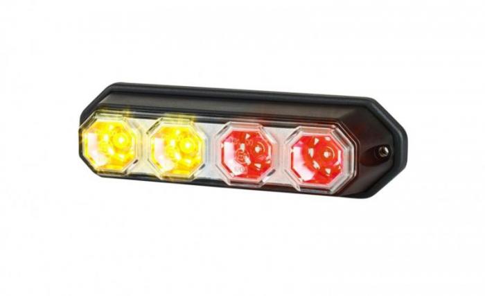 Stop lampa spate stanga/dreapta LED, 12/24V, semnalizator, lampa stop, lumina parcare, cu 1m fire 0