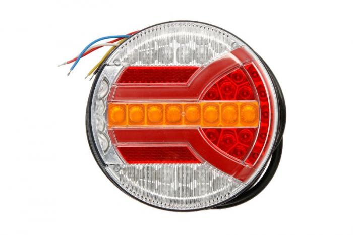 Stop lampa spate stanga/dreapta NAVIA LED, 12/24V, semnalizator, anti-Proiectoare ceata, lampa stop, lumina parcare, Semnalizator 0