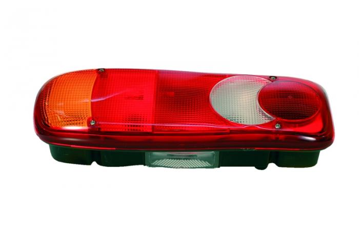Stop lampa spate stanga LC5 cu bulb deschis semnalizator, anti-Proiectoare ceata, lampa stop, lumina parcare, fara VIGNAL, soclu AMP 7 pini spate RVI MIDLUM dupa 2000 [0]