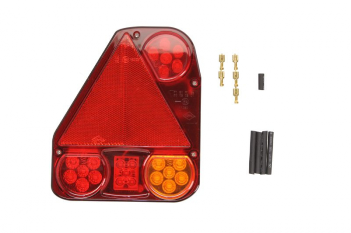 Stop lampa spate stanga LED, 12/24V, semnalizator, anti-Proiectoare ceata, lampa stop, lumina parcare, triunghi reflector 0