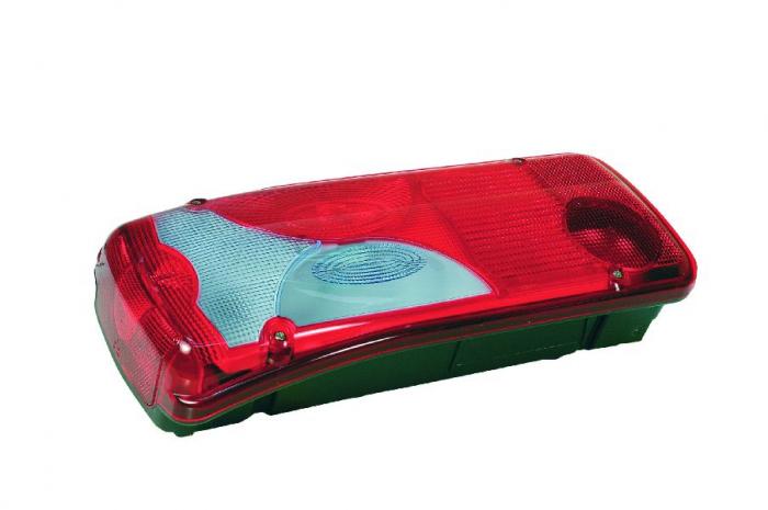 Stop lampa spate VIGNAL stanga AMP1.5 triunghi Reflectorizant rosu-alb [0]