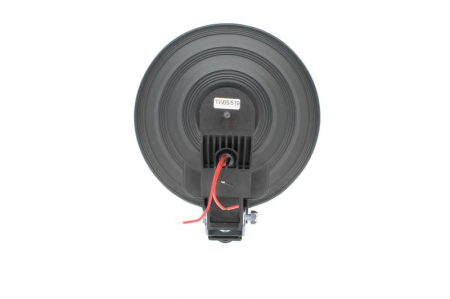 Far universala stanga/dreapta faza lunga, H1, 12/24V, diametru 225mm, alb, plastic, negru, halogen,lumina pozitie LED, rama cromat1