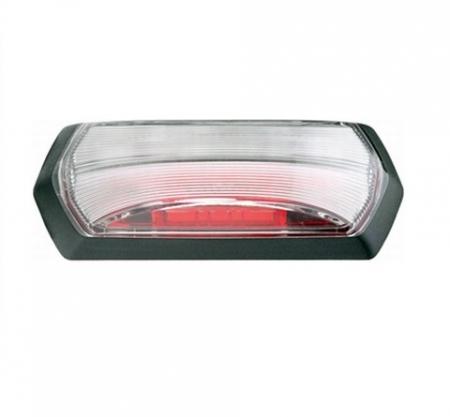 Lampa gabarit stanga/dreapta, rosu/alb, LED, inaltime 99,2 latime 37,5 adancime 37,7, , 24V0